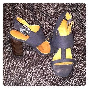 Calvin Klein Navy Sandals